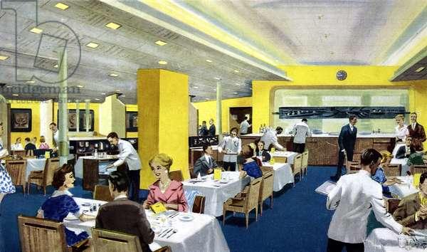 Canberra: tourist class restaurant
