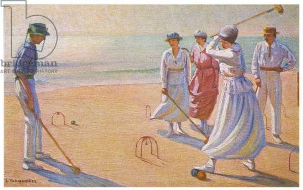 CROQUET ON THE BEACH