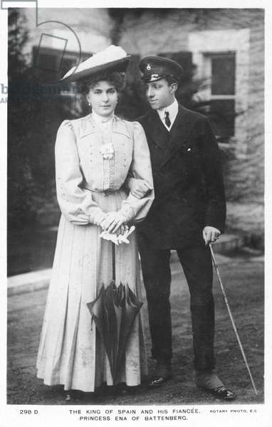 King Alfonso XIII of Spain and Princess Ena of Battenburg