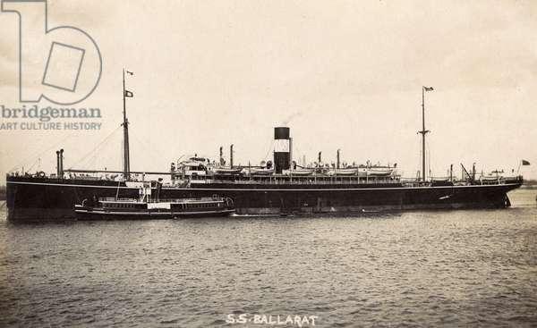 SS Ballarat, P&O Line passenger steamer