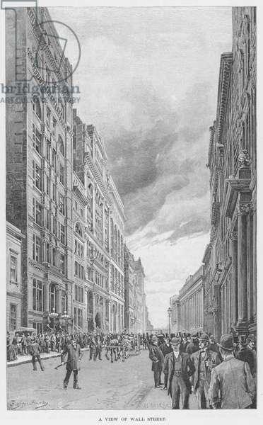 WALL STREET, 1890