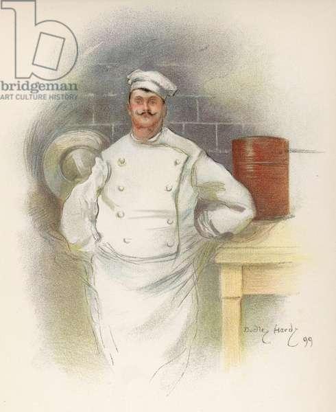 SAVOY HOTEL CHEF 1899