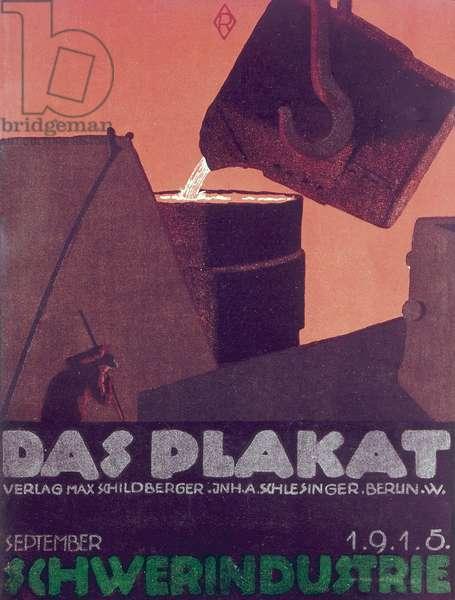 Cover design, German heavy industry