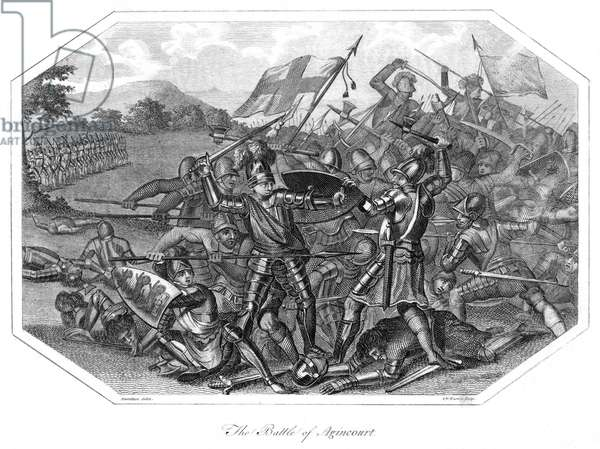 100 Years War and English Victory at Agincourt