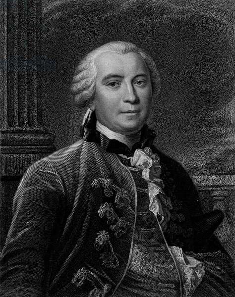 Count Georges Louis Leclerc de Buffon (1707-1788)