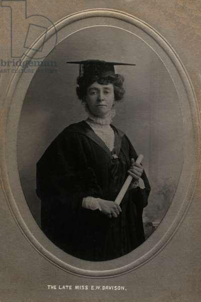 Emily Wilding Davison Suffragette