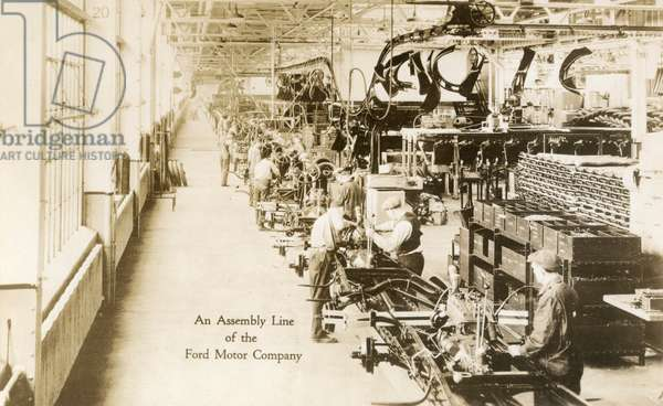 Ford Motor Company Assembly Line