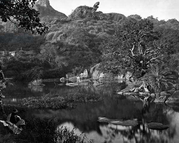 Lake, Mount Abu, Rajasthan, India