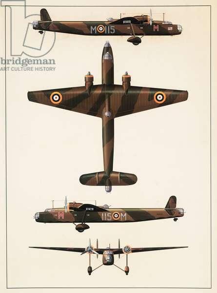 Handley Page Harrow K6962 aeroplane