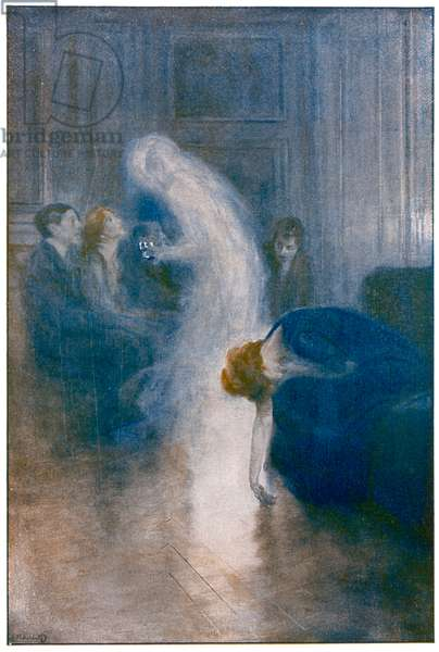 DELANNE MATERIALISATION, (painting) 1912