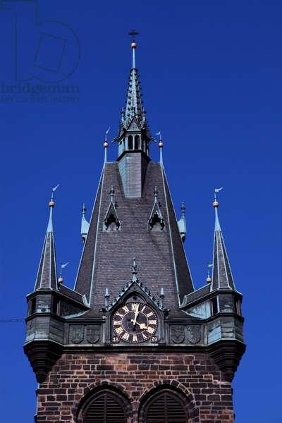 Jindrisska Vez Tower in Prague