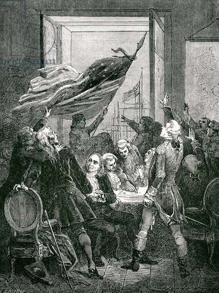 The Declaration of Independence - Signing of the Constitutio