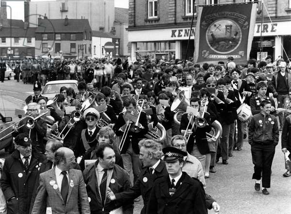 Derbyshire miners march 1984