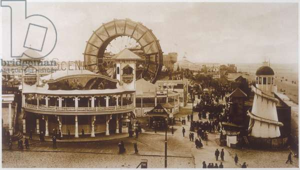 FAIR AT BLACKPOOL, 1915