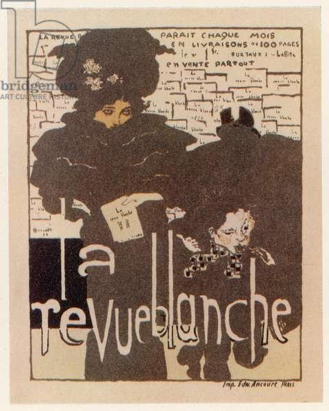 Poster advertising French magazine 'La Revue Blanche' , 1894 (lithograph)