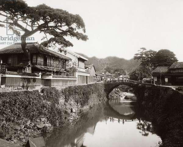 Stone bridge, Nakashima, Nagasaki, Japan