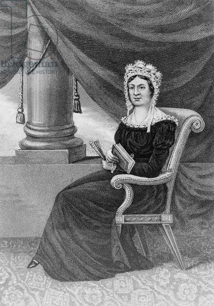 Mrs. Rachel Jackson, late consort to Andrew Jackson, Preside