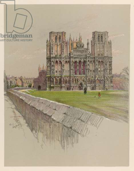 WELLS CATHEDRAL 1924
