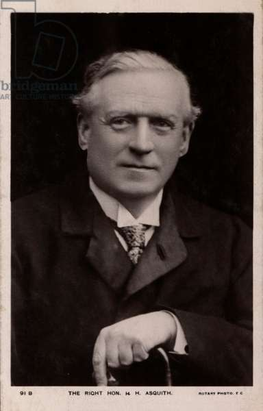 Suffragette Prime Minister H. Asquith