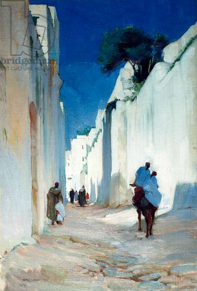 Tangiers City Wall, by George Murray