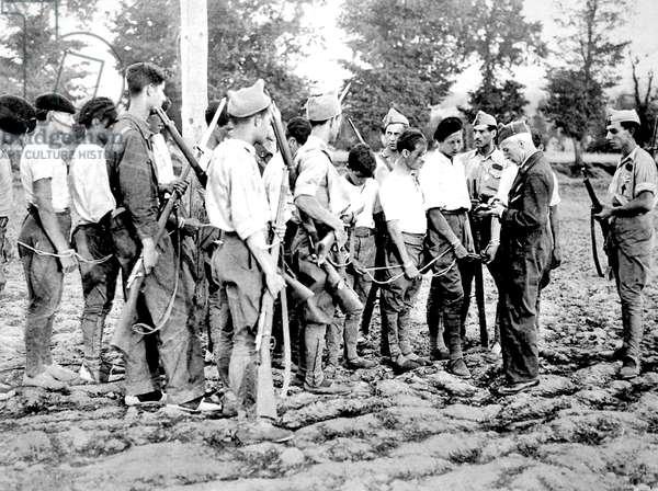 Spanish War: Republican prisoners