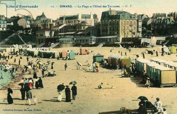 FRANCE/DINARD BEACH 1905