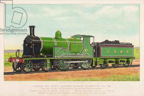 LONDON AND SWR LOCO 706