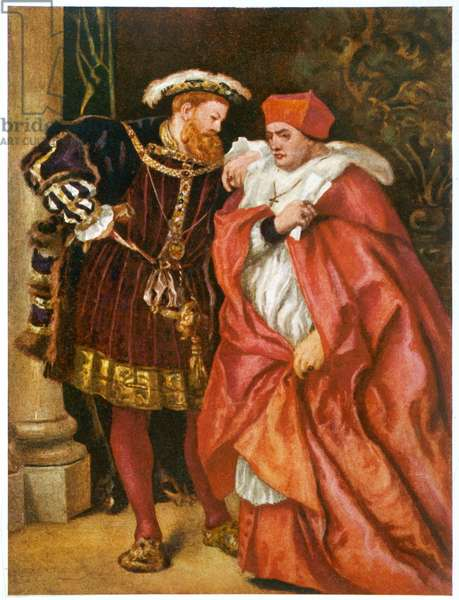 WOLSEY/WITH HENRY VIII