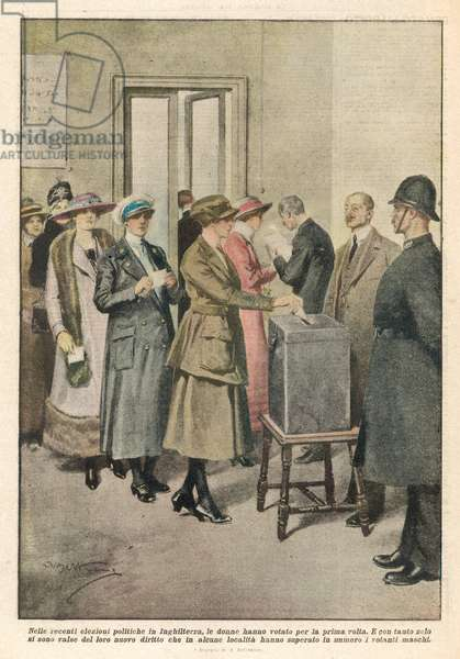 WOMEN VOTING/1919