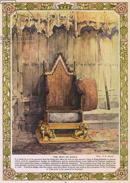 St Edward's Chair - Coronation Chair