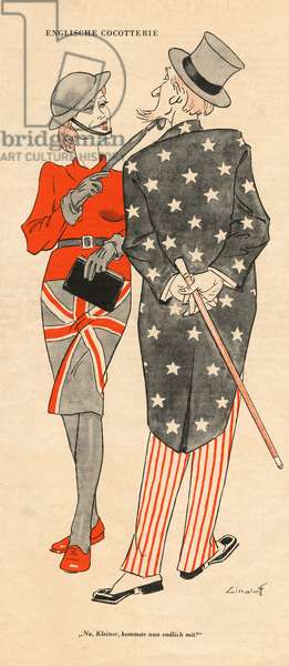 BRITISH ENTICE UNCLE SAM