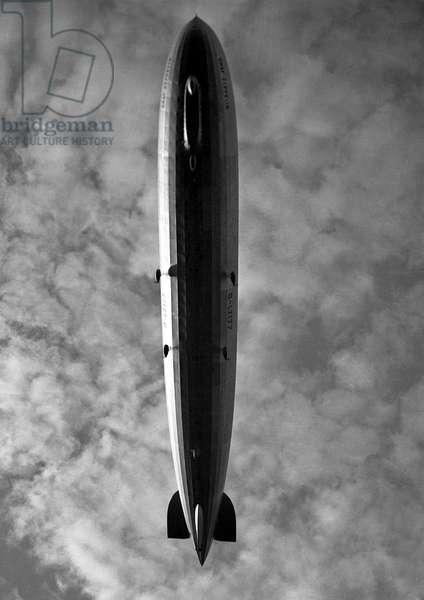 Graf Zeppelin airship in flight