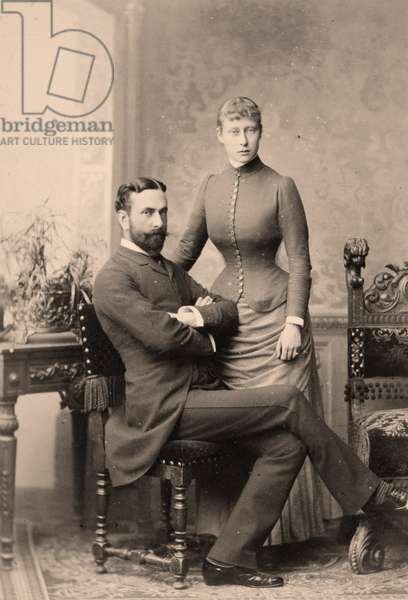Prince Louis of Battenberg & Princess Victoria of Hesse