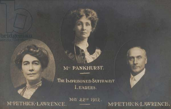 Emmeline Pankhurst Imprisoned Leaders