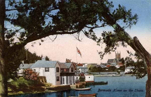 Waterfront home at Hamilton, Bermuda
