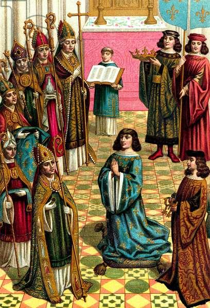 Le sacre de Louis XII a Reims