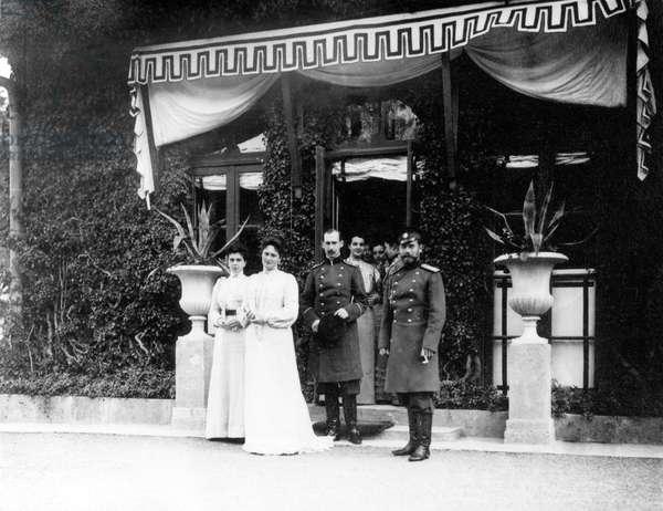 Russian Royalty - Tsar Nicholas II with Family