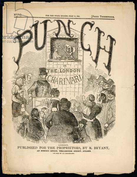 PUNCH COVER/FIRST ISSUE