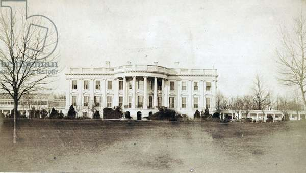 White House (South front, or rear)