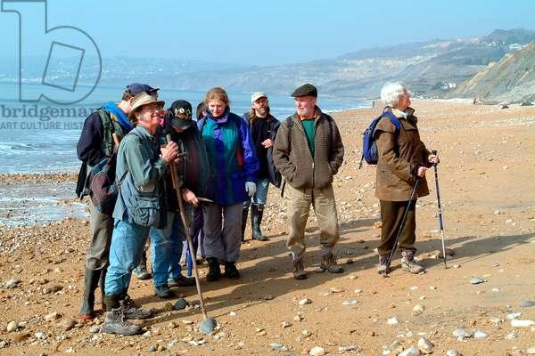 Lyme Regis field trip, 2003