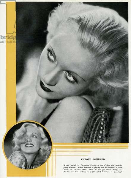 Carole Lombard in 1932