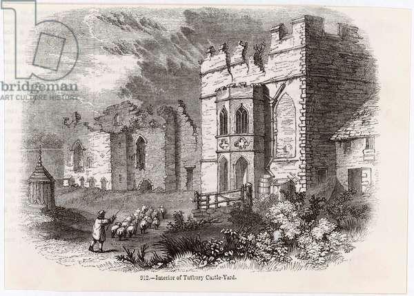 TUTBURY CASTLE/1845