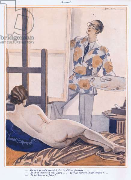 Illustration from Paris Plaisirs number 100, October 1930