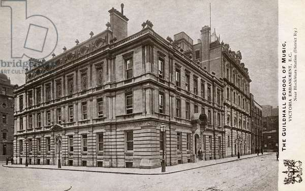 The Guildhall School Of Music, Victoria Embankment, London