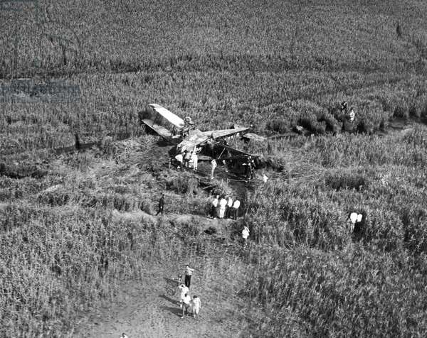 JOHNSON'S PLANE CRASH