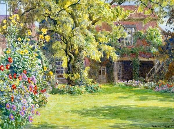 Summer Glory, an Old Garden