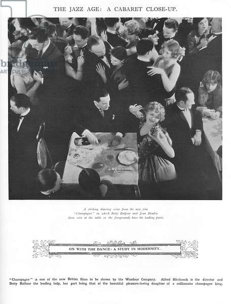 The Jazz Age - scene from Champagne