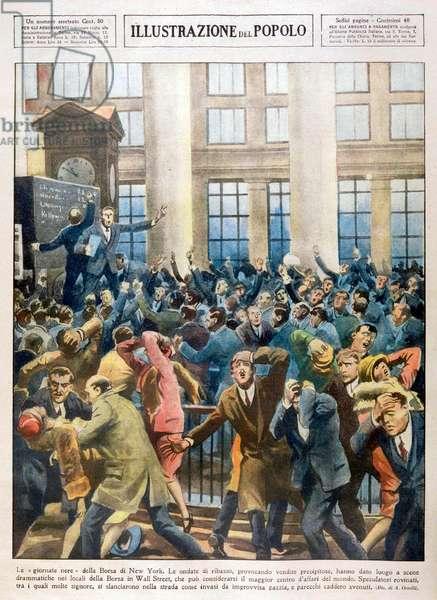 Krach boursier a Wall Street, 1929
