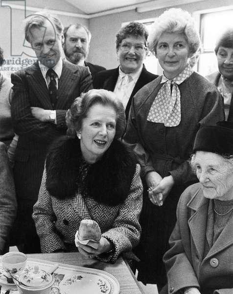 Margaret Thatcher at Marazion Community Centre