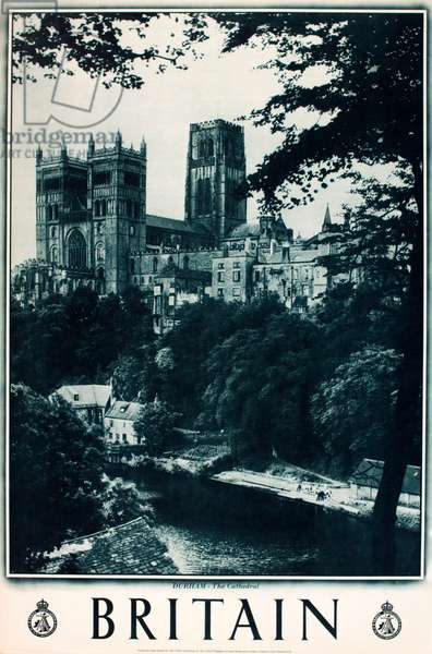Britain poster, Durham Cathedral
